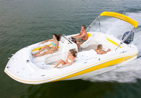 Hurricane Sundeck Used Boats by 2016 Hurricane Sundeck Sport 203 Ob Power Boats Outboard
