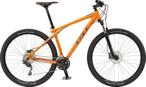 mountainbike herren 29 zoll gt mountainbike 29 zoll 30 shimano kettenschaltung orange herren 187 karakoram elite