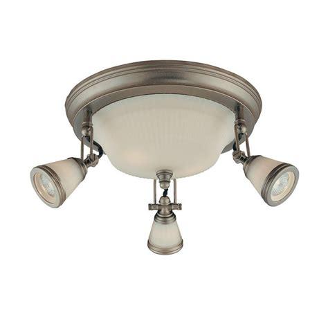 home depot flush mount ceiling light fixtures hton bay 5 light antique pewter ceiling semi flush