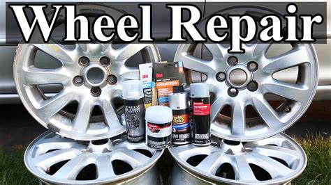 How To Repair Wheels With Curb Rash And Scratches