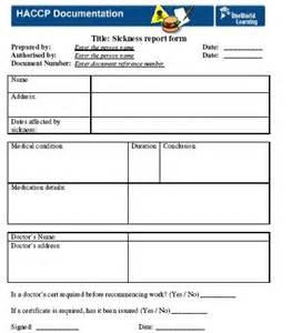 HACCP Plan Form Template