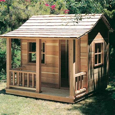 wooden playhouse plans girls playhouse plans simple house plans  build  mexzhousecom