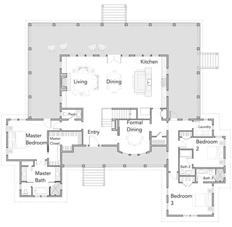 open floor plan pictures ranch style house plans with wrap around porch open floor