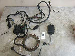 Yamaha Outboard 2 Stroke Engine Wiring Harness