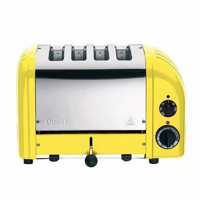 Yellow Toaster Slice Dualit Newgen Citrus Toasters