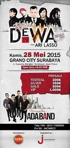 Konser Reuni Dewa 19 & Ari Lasso di Surabaya