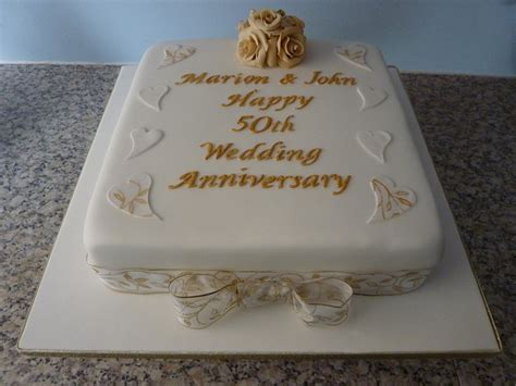 50 wedding anniversary 50th wedding anniversary cake pictures