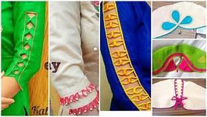 Beautiful sleeves designs in very easy way - Simple Craft