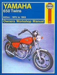 Yamaha 650  Xs650  Tx650 Repair Manual 1970