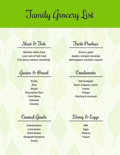 Grocery Simple Template