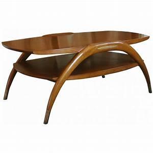 Table Basse Bois Exotique : table basse crabe en bois exotique sur moinat sa antiquit s d coration ~ Dode.kayakingforconservation.com Idées de Décoration