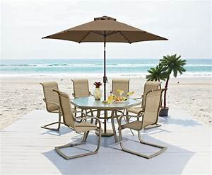 Review Garden Oasis Long Beach 7pc Patio Dining Set