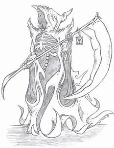 Grim Reaper 'Death' by Phycosmiley on DeviantArt
