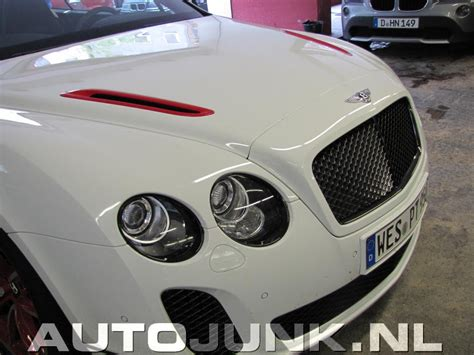 Bentley Ice Speed Record Supersports Convertible Fotos