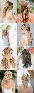 Half Up Half Down Wedding Hairstyles Pictures, Photos, and ...