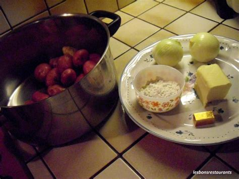 roux blond cuisine pommes de terre au roux blond les bons restaurants