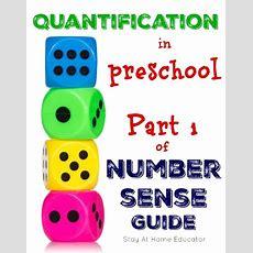 Quantification In Preschool  Part 1 Of Number Sense Guide  Number Sense