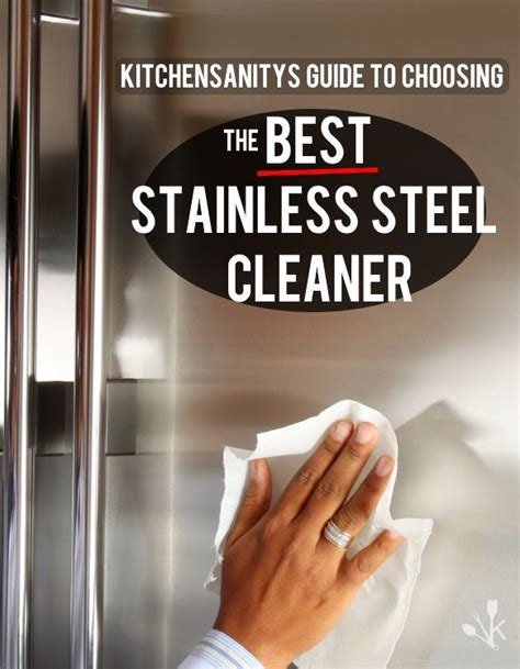 best way to clean stainless steel kitchen sink best stainless steel cleaner review guide 2018 9917