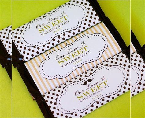 candy bar wrapper templates designs