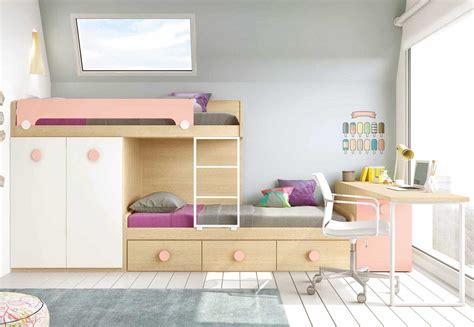 lit superpose bureau lit superposé avec bureau pour la chambre enfant