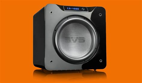 Reveling In The Heavyweight Sound Of The Svs Sb-4000