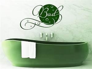 Wandtattoo Bad Günstig : wellness wandtattoo bad von ~ Markanthonyermac.com Haus und Dekorationen