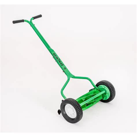 ecoreel   manual walk  push reel mower er