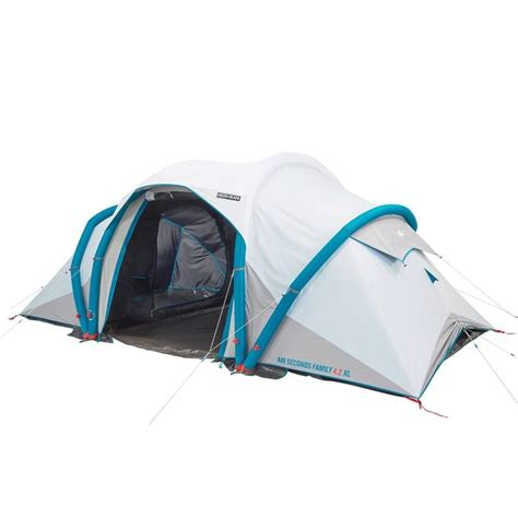 tente 4 places 2 chambres seconds family 4 2 xl quechua air seconds family 4 2 xl f b decathlon