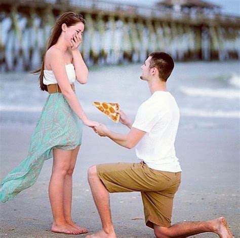 Wedding Proposal Meme - lol hilarious new meme shows men proposing with delicious pizza slices designtaxi com