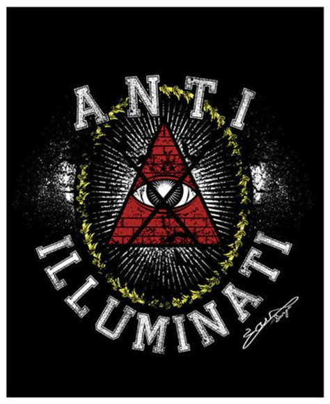 Anti Illuminati Symbol by Anti Illuminati Untara Elkona