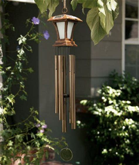 this new large wind chime solar powered light is a