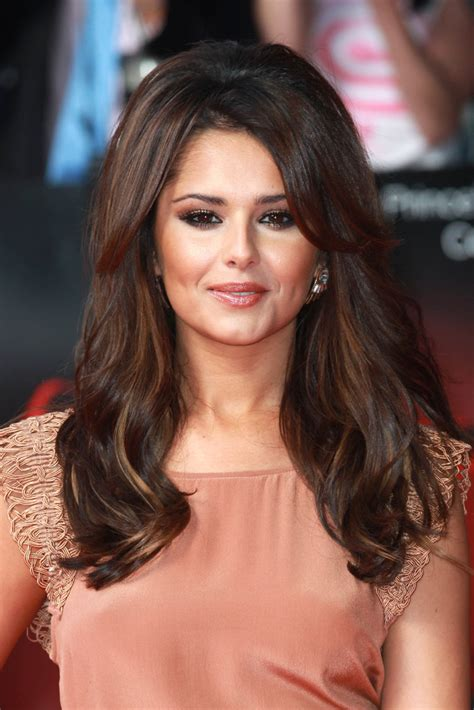 cheryl cole long curls cheryl cole hair  stylebistro