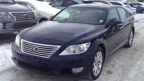 Pre Owned 2010 Lexus Ls 460 Lwb Awd Executive Package