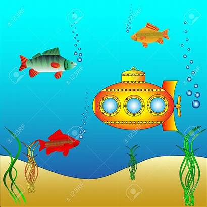 Clipart Underwater Deep Algae Submarine Sea Underwate