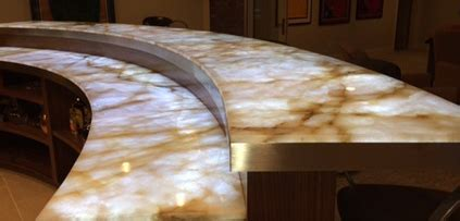 translucent quartz countertops onyx countertops how do they hold up granite countertop