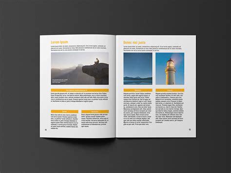 8 5x11 brochure template 8 5 215 11 brochure template free template design