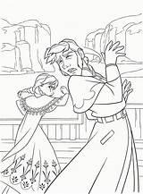 Coloring Frozen Kawaii Hans Prince Popular sketch template
