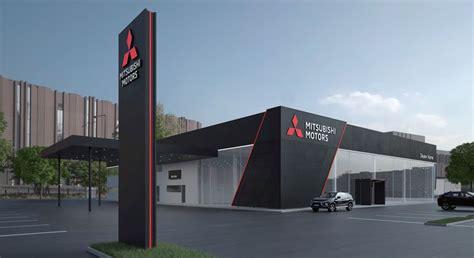 Mitsubishi Corporate Office by Mitsubishi Dealers Krijgen Compleet Nieuwe Uitstraling