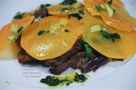 cuisiner la queue de boeuf salade de queue de boeuf vinaigrette thaï aux herbes