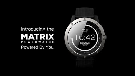 matrix powerwatch the smartwatch that s powered by you