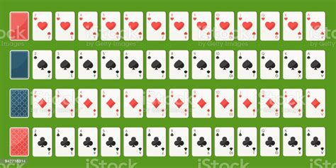 Maybe you would like to learn more about one of these? Poker Playing Cards Full Deck Stock Illustration - Download Image Now - iStock