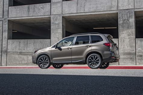 subaru forester touring xt 2017 subaru forester 2 0xt touring first test review