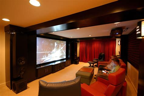 Home Theater Decor Ideas by 20 Lovely Basement Home Theater Ideas That Will Amaze You