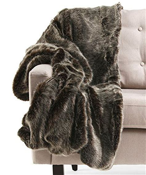 miller fur throw pillows tahari frosted mink faux fur throw luxury silky soft