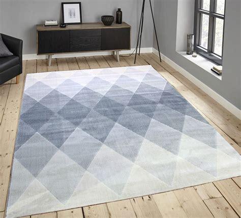 large grey rug soft touch modern stripes zig zag flowers grey teal
