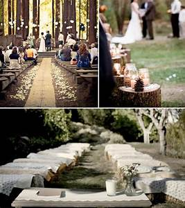 unique rustic wedding ideas weddings by lilly With simple wedding ceremony ideas
