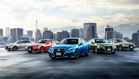 2015 toyota lineup 2016 toyota crown revealed gets new 2 0l turbo