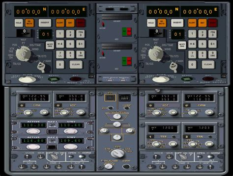 panel fsx fokker display standard nav dual modifications flyawaysimulation screenshot wide
