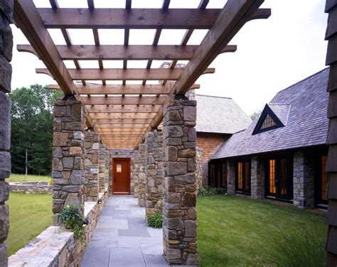 entry pergola eclectic entry  york  ike