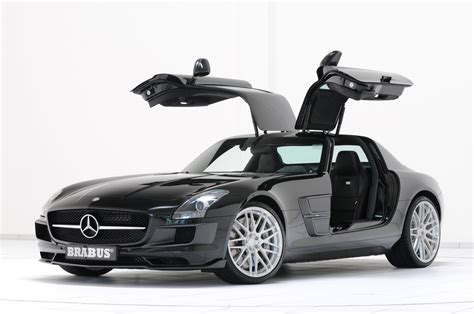 Brabus Tackles The Mercedes Benz Sls Amg Actually Leaves